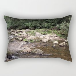 Jacob Fork River at South Mountains State Park North Carolina Rectangular Pillow