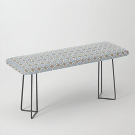 Moroccan Floris Bench