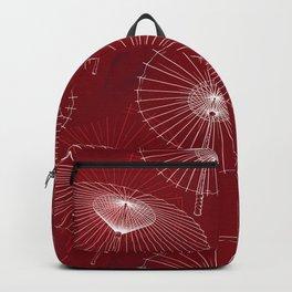 Japanese Umbrella pattern #6 Backpack