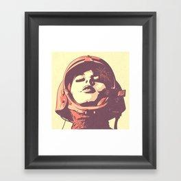S. O. Framed Art Print