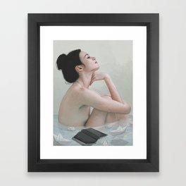 Bath Framed Art Print