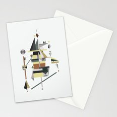losing balance Stationery Cards