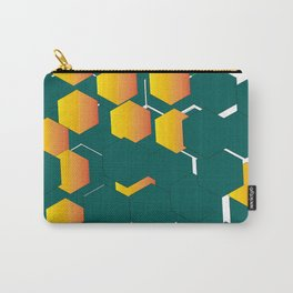 hexágono Carry-All Pouch
