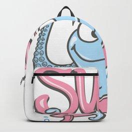 Surf Octopus Kids Design Backpack