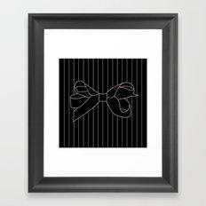 Ribbon 3 Framed Art Print
