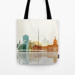 Dublin skyline Tote Bag