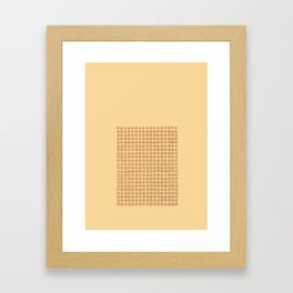Concents Framed Art Print