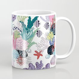 underwater pattern Coffee Mug