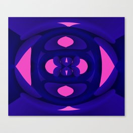 Pink Life Multiply Canvas Print