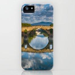 Bridge of Reflections iPhone Case