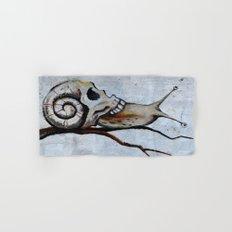 Snail Skull Hand & Bath Towel