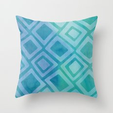 Motivo Cuadrado Throw Pillow