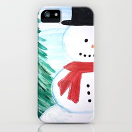 Happy Holidays iPhone Case