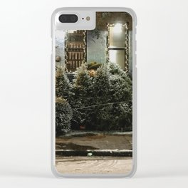 Bushwick Snow 2017 Clear iPhone Case