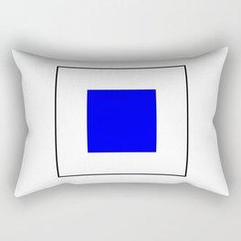 International maritime signal flag sea alphabet collection letter s Rectangular Pillow