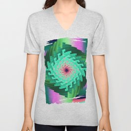 Abstract in Motion Unisex V-Neck