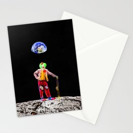 Moon Clown Stationery Cards