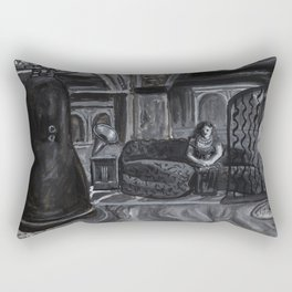 Twin Peaks - White Lodge Rectangular Pillow