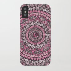 Pink Lace Slim Case iPhone X