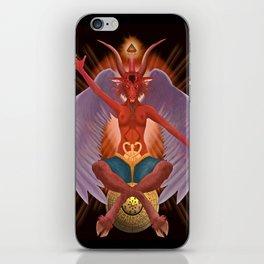 The Baphomet iPhone Skin