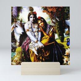 Hindu Krishna 3 Mini Art Print