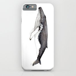 North Atlantic Humpback whale iPhone Case