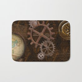 Comforts of Steampunk Bath Mat