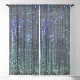 Magical Woodland Sheer Curtain
