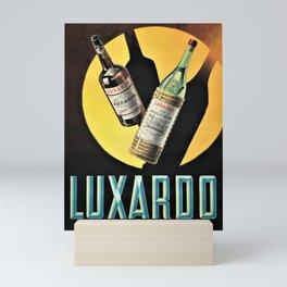 1945 Cherry Brandy Luxardo Zara Aperitif Alcoholic Beverage Advertisement Vintage Poster Mini Art Print