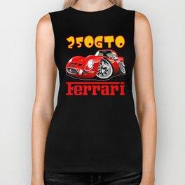 Ferrari GTO250 caricature Biker Tank