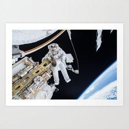 Spacewalk Art Print