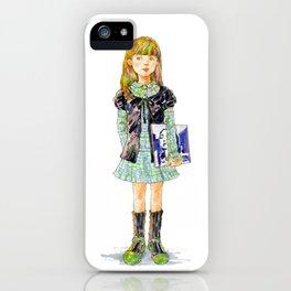 Indie Pop Girl vol.3 iPhone Case