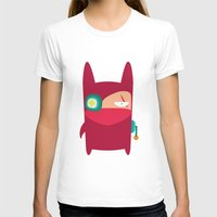 ninja T-shirts featuring Ninja by Joy Pham