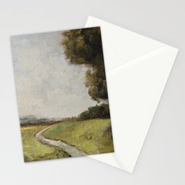 winding path Stationery Cards