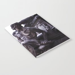 Nordic print, black white, wall art, sculpture, statues, abstract print, Eternity Notebook