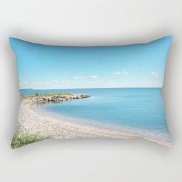 AFE Tommy Thompson Park 2, Beach Photography Rectangular Pillow