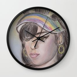 Remember Amy Wall Clock