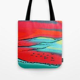 Danube Sunrise Tote Bag