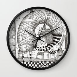 There will be Nonsense in it Wall Clock