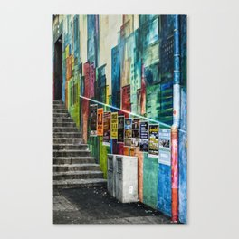 Basel Walls Canvas Print