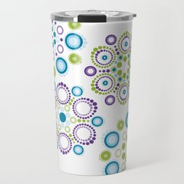 Mandala lotus flowers Travel Mug