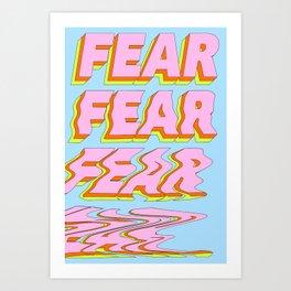 No More Fear Art Print