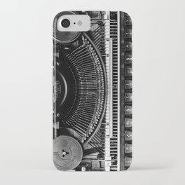 Typewriter iPhone Case