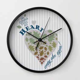 Coming Alive Wall Clock