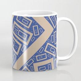 Rectangle Pattern Coffee Mug