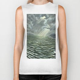 Sunbeams and Rolling Seas Biker Tank