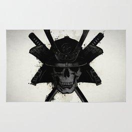 Samurai Skull Rug