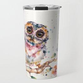 Yep, Cute Is My Middle Name (Owl) Travel Mug
