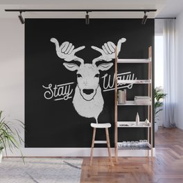 Stay Wavy Wall Mural