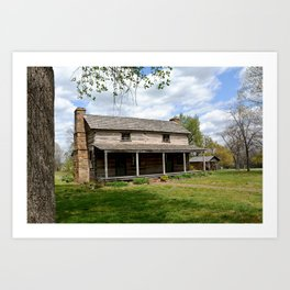 Prairie Grove Battlefield - The Latta Homestead, Established in 1834, No. 2 of 5 Art Print